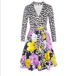 Diane Von Furstenberg Andy Warhol Pop Wrap Dress